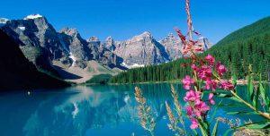 Canadian Rockies - Moraine Lake | Cycle of Life Adventures