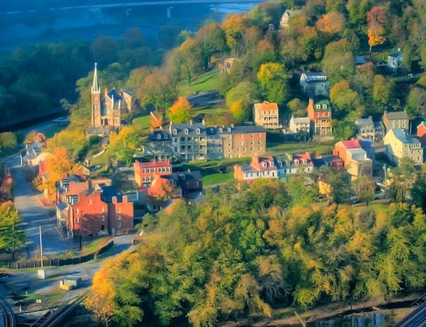 Harpers Ferry from Maryland Heights | Cycle of Life Adventures