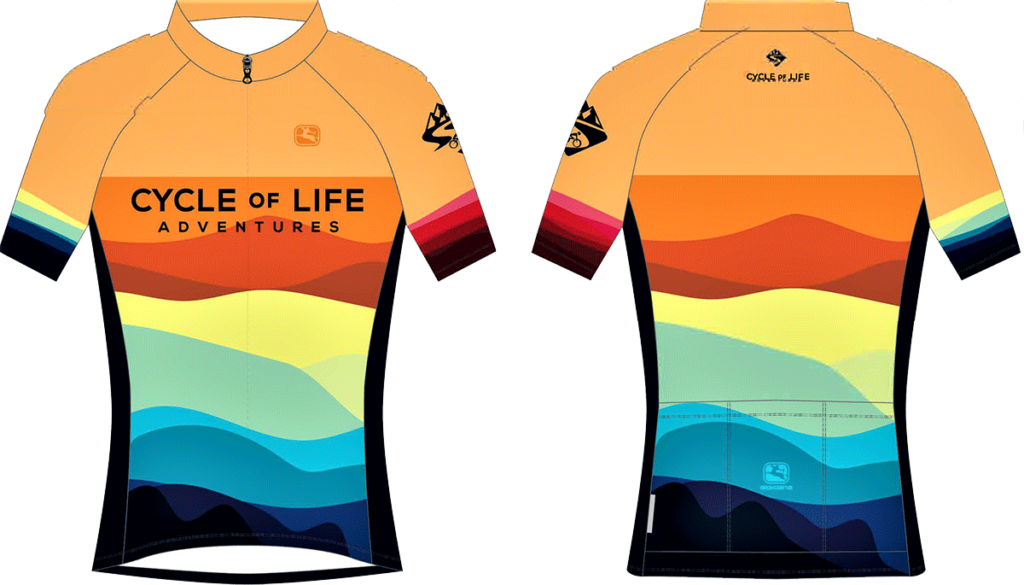 Cycling Jersey | Cycle of Life Adventures