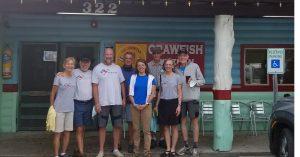 COLA | Day 28 - Dinner at Tia Juanita's Fish Camp