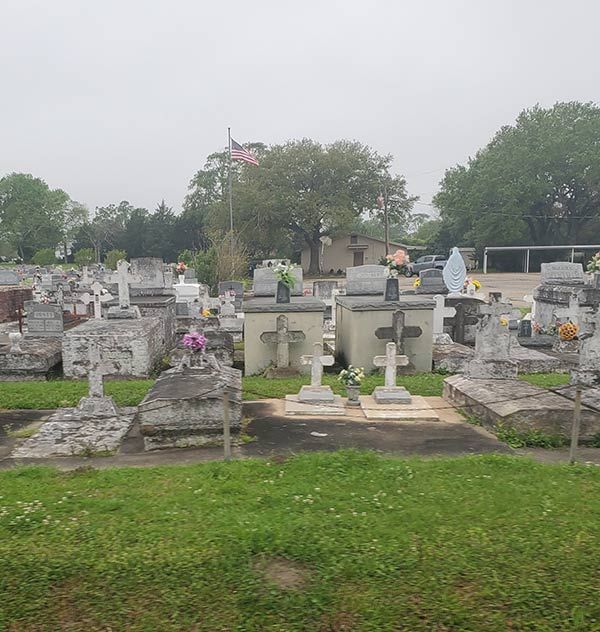 COLA | Day 32 - Cemetery Picture 1 | Epic Cross Country Bike Tour | Epic Cross Country Bike Tour