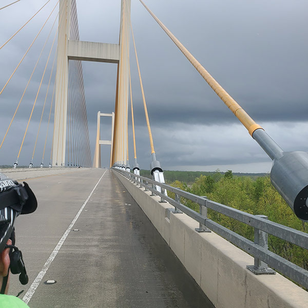 COLA | Day 32 - Mississippi River Bridge | Epic Cross Country Bike Tour