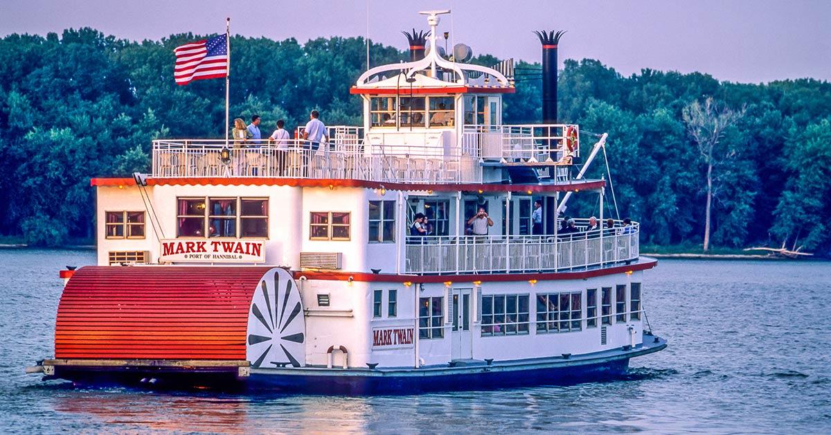 COLA   Paddlewheel Steamboat   MS River Bike Tour