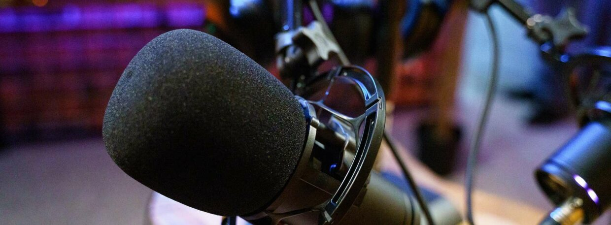COLA   Outspoken Cyclists Podcast   Microphone